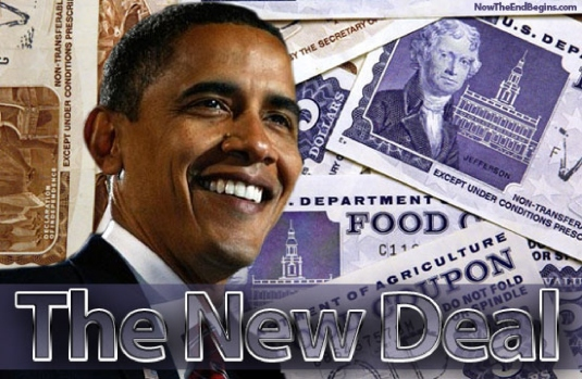 the new deal - food stamps