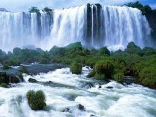 waterfall - dehydration 1