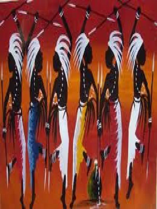 African art - page break