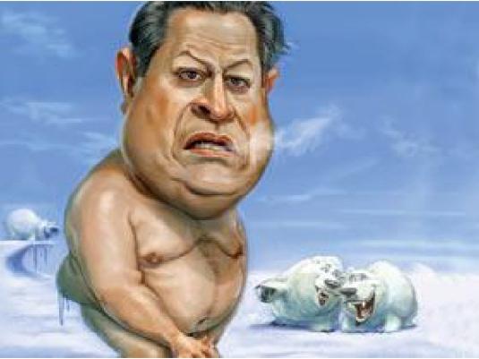 Al Gore - caricature 3