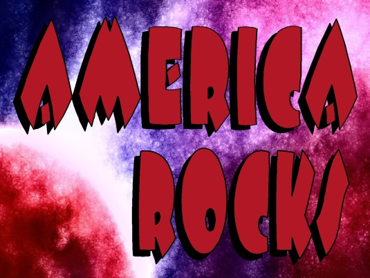 America rocks - page break 1a