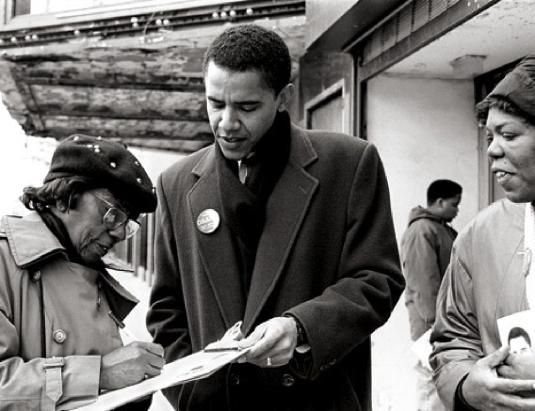 Barack Obama - community organi