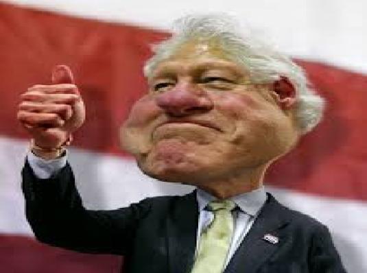 Bill Clinton - thumbs up