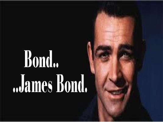 Bond - James Bond 1a