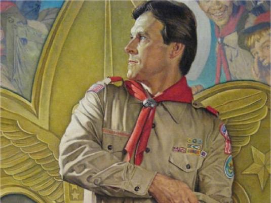 Boy Scout leader 1a