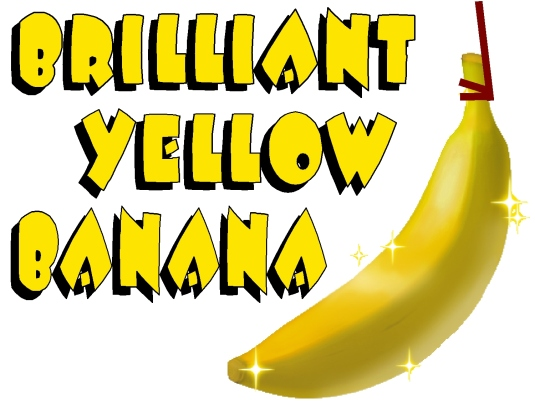 brilliant yellow banana 1a