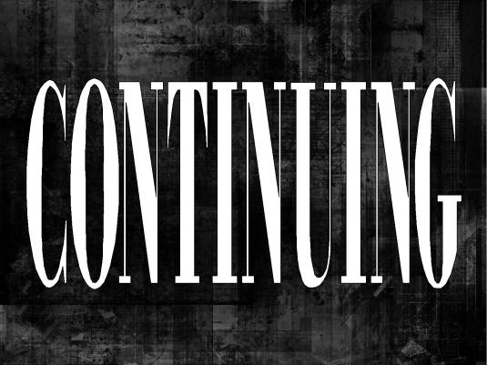 Continuing - Break - Black