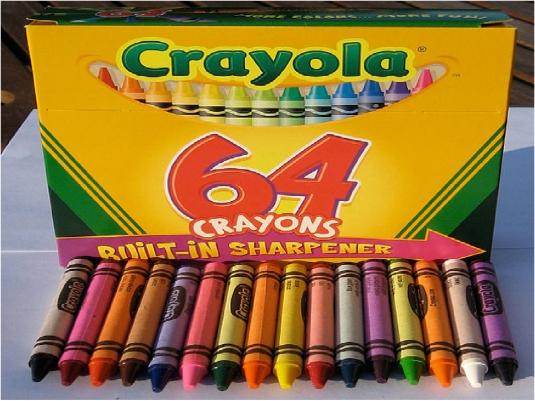 Crayola 64 pack
