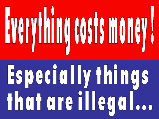everything costs money 2a