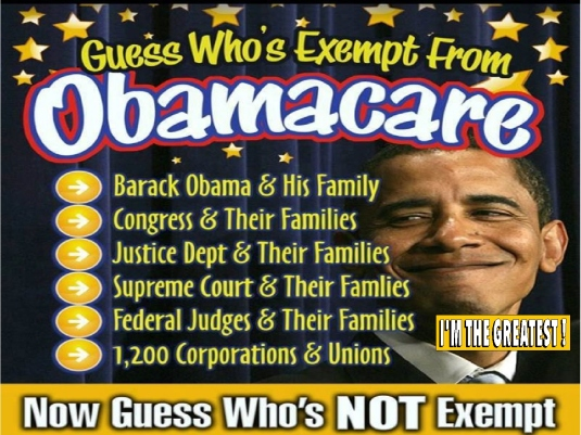exempt from Obamacare 2