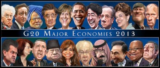 G 20 - major economies - 2013