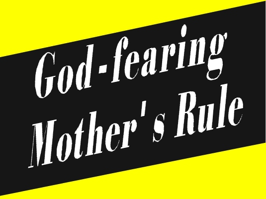 God-fearing mother's 1a - Page Bre