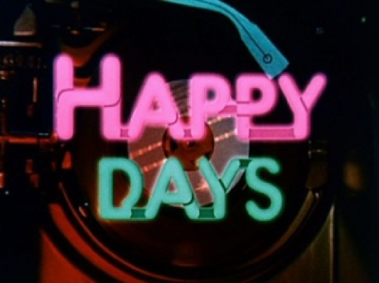 happy days - logo 1