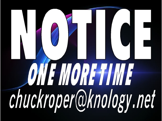 NOTICE - One More Time 1