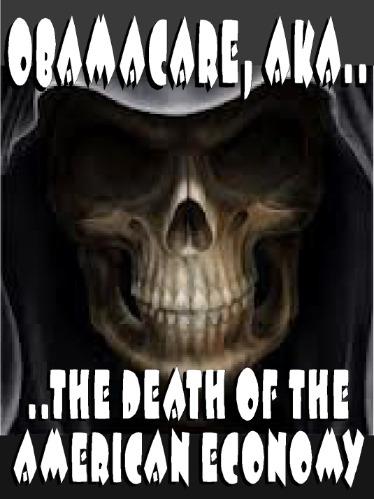 Obamacare - death of America 1b