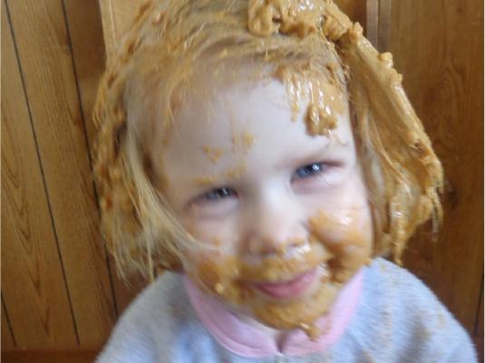 peanut butter child 1a