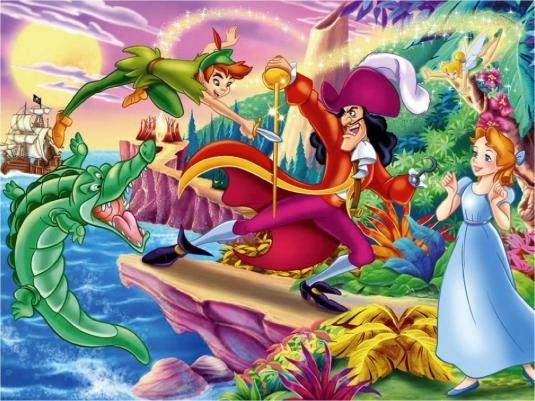 Peter Pan - Wendy - Neverland