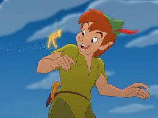 Peter Pan - with Tinkerbell