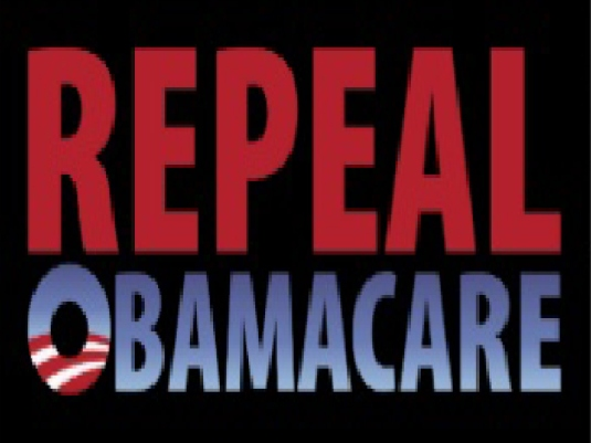 repeal Obamacare - red and blue 1a