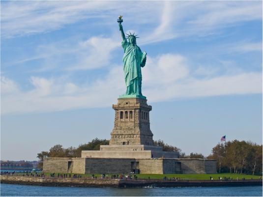 statue of liberty - pedestal 1