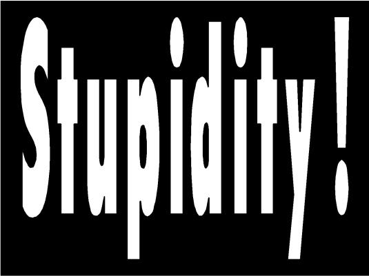 stupidity - page break 1