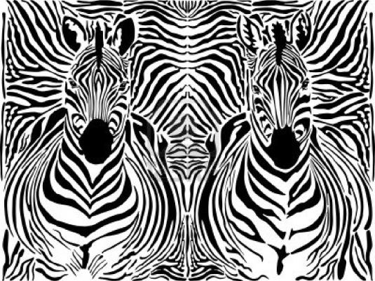 zebra pattern - page break