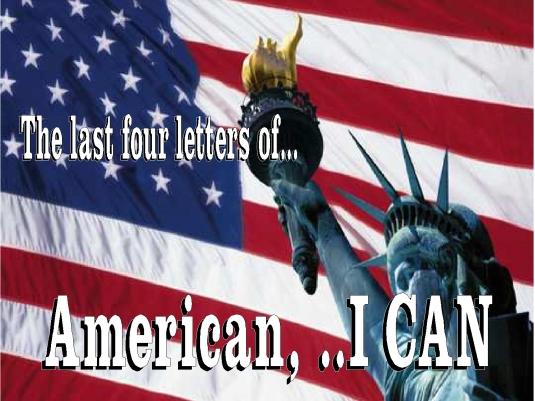 American - I CAN 2a