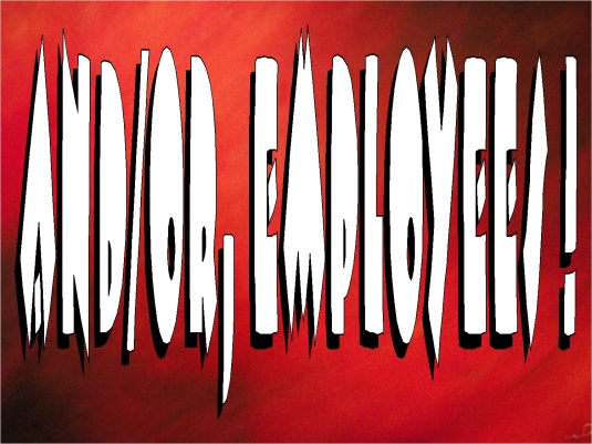 and-or employees - graphic