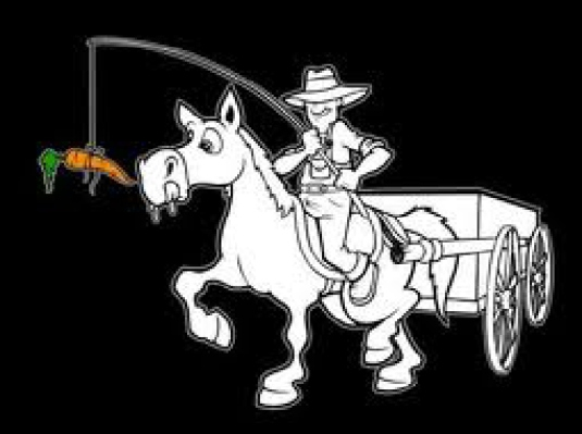 Carrot on a stick - wagon 1