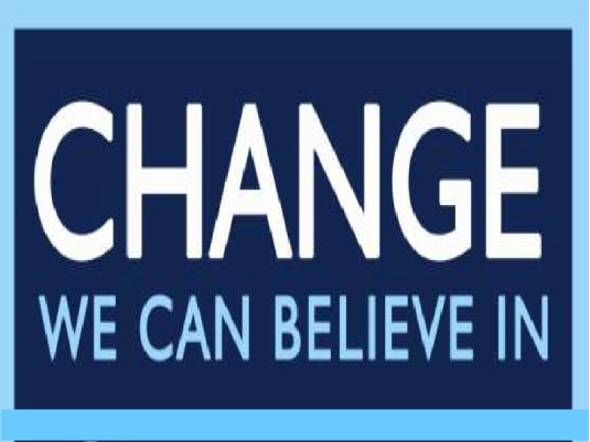 change we can believe in 2a