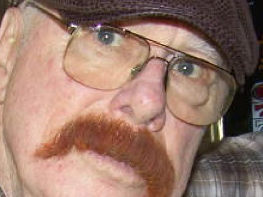 Chuck's mustache - snakeskin ca