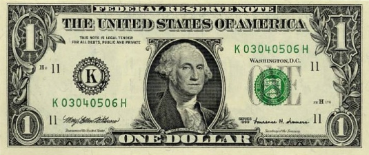 George Washington - dollar bill