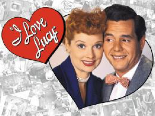 I Love Lucy heart - with Desi 1a