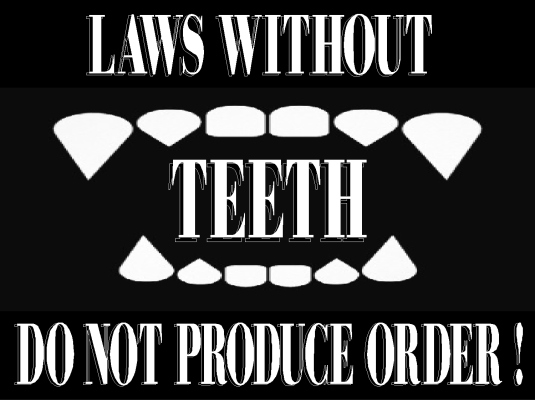 laws without teeth  2A