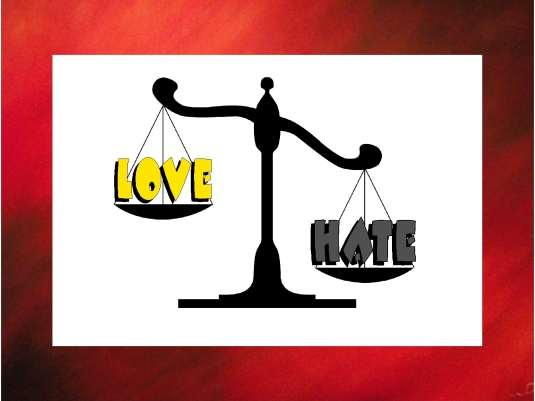 love versus hate 2a