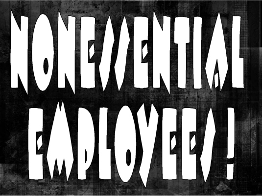 nonessential employees 1