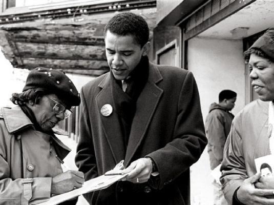 Obama - community organizer 1