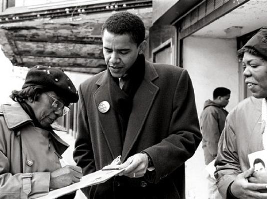 Obama - community organizer