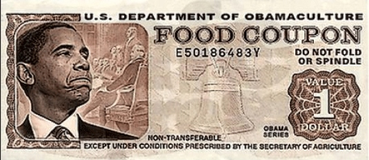 Obama - food stamps coupon