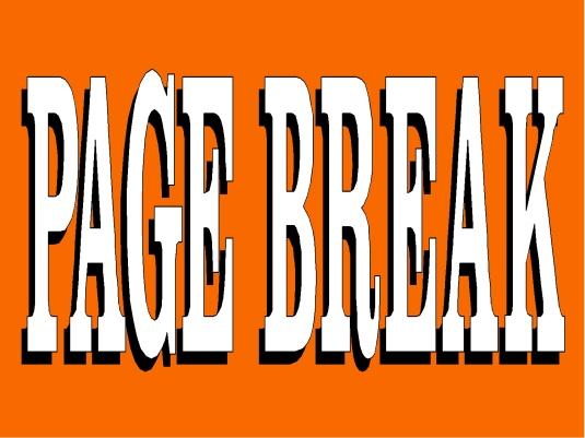 page break - orange 1A