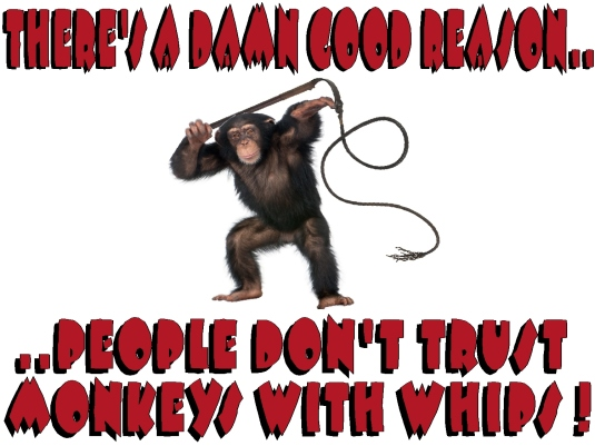 people 22  don't trust monkeys with
