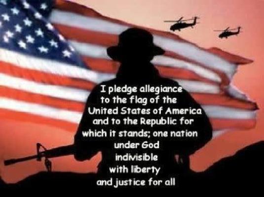 Pledge of Allegiance - conformi