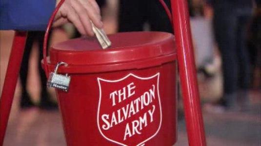Salvation Army bucket 1