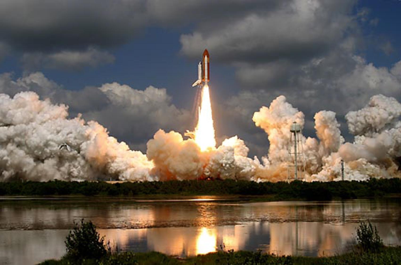 space shuttle landing in houston - photo #26