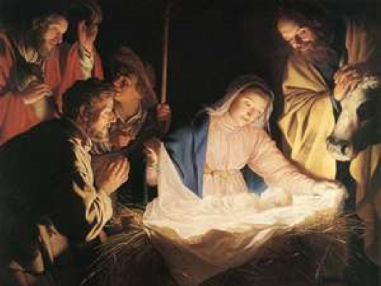 the baby Jesus - God's blessing 1a