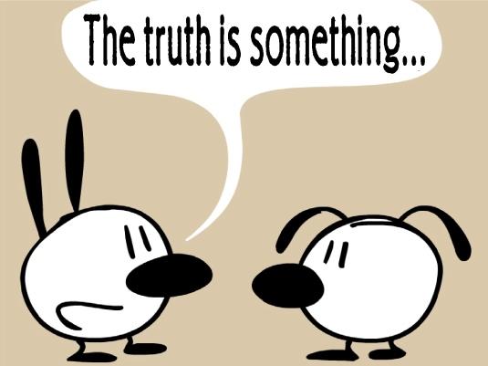the truth - cartoon 1a