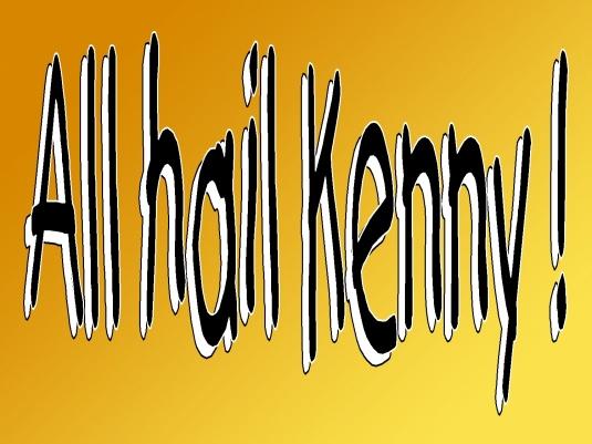 all hail Kenny - WAR 1a