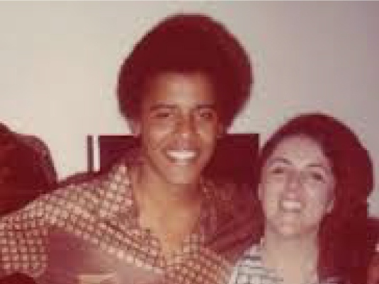 Barack and mom 1a