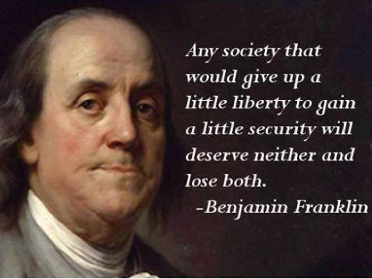 Benjamin Franklin on security 1a
