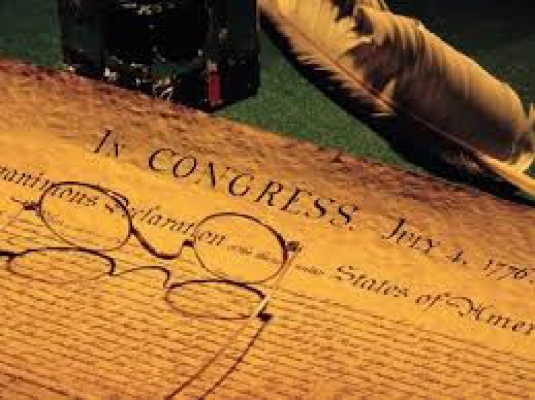 Declaration of Independence - o